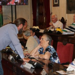 Cassá asiste al Consejo del Mayor de Málaga