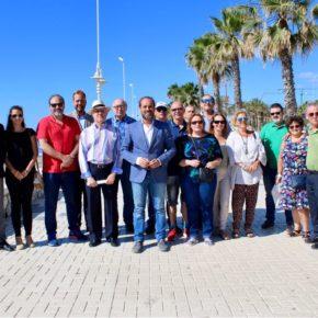 Ciudadanos reclama soluciones a largo plazo para evitar la pérdida de arena en la playa de San Andrés