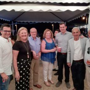 Carballo asiste a la inauguración de la Feria de El Palo