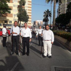 Cs asiste a la procesión de la Virgen del Carmen de Belén