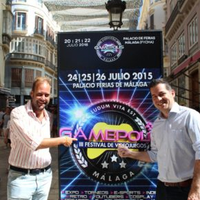 Ciudadanos asiste a la presentación de Gamepolis, evento que ha apoyado con una partida de 15.000 euros para su consolidación