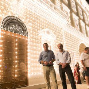 Cs Málaga, en el alumbrado de la portada del Real de la Feria 2018