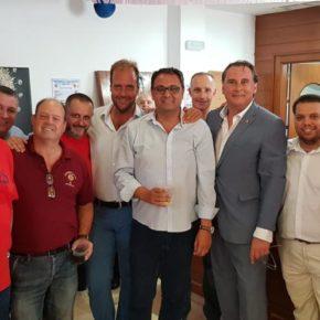 Ciudadanos visita a cofradías y peñas en el Centro y el Real