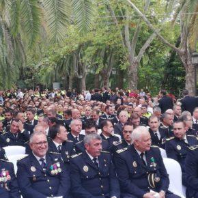 Cassá asiste a los actos con motivo del día del patrón de la Policía Local de Málaga
