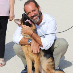 Ciudadanos reivindica mejoras para el parque canino de Cortijo Alto y pide habilitar la segunda zona para perros pequeños