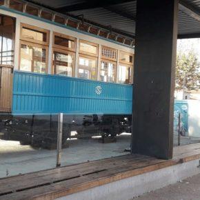 Cs exige mejorar el entorno del tranvía de la plaza Manuel Díaz Millán en el distrito Este