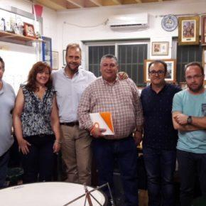Ciudadanos visita los ensayos de la Banda Juvenil Cruz del Humilladero