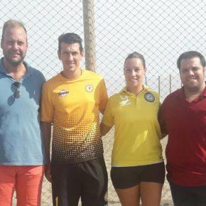 El Ciudad de Málaga de balonmano playa pide ayuda a Cs para poder entrenarse