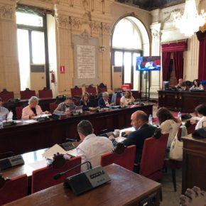 Aprobada nuestra moción para implantar un espacio de seguridad para los motoristas en los semáforos de Málaga
