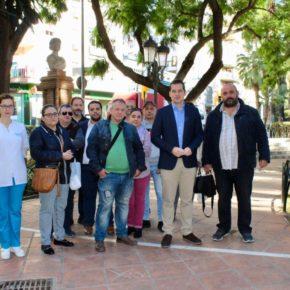 Cs propone remodelar la Plaza de Bailén con la instalación de un parque infantil y aparatos de ejercicio para mayores