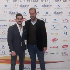 Cs asiste al acto de homenaje al medallista Damián Quintero