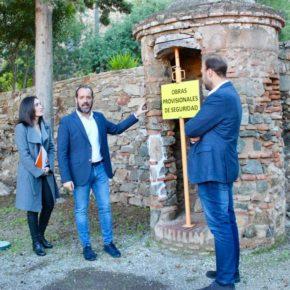 Cs exige medidas para evitar nuevos derrumbes en Gibralfaro y un calendario claro para los 7 millones de actuación integral en el castillo