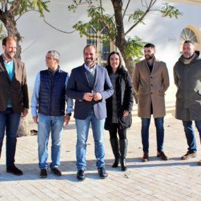Cs valora la apertura al público de la Plaza del Patrocinio y se compromete a seguir mejorando el Cementerio de San Miguel y su entorno