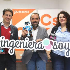 Cs propone que Málaga celebre la World Robot Olympiad y que redoble los programas de vocaciones científicas