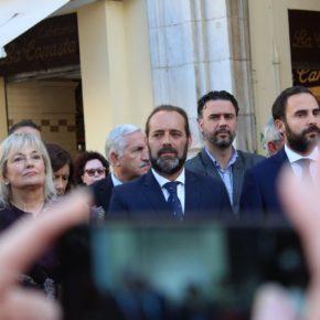 """""""Necesitamos unidad, igualdad territorial, mucha Europa e instituciones fuertes frente a separatistas y populistas"""""""