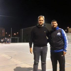 Cs visita al Málaga Basket para conocer la actividad del club en Teatinos y Campanillas