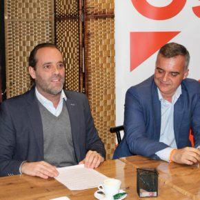 Cassá acerca el acuerdo de presupuestos 2019 a los afiliados y simpatizantes de la Agrupación Cs Málaga Centro