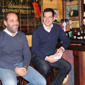 Café Ciudadano con las Agrupaciónes Este, Noroeste y Oeste de Ciudadanos Málaga