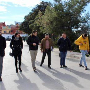 Carballo visita Monte Dorado