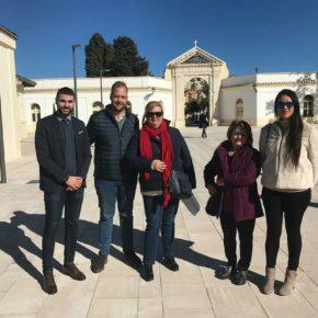 Ciudadanos asiste a la visita a la renovada plaza del Patrocinio