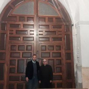 El Santuario estrena puerta lateral gracias a la defensa del patrimonio de Cs