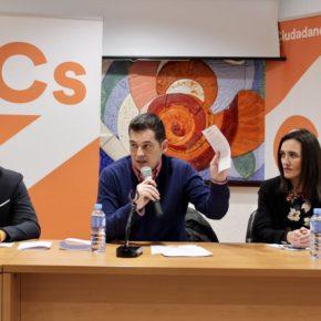 Ciudadanos celebra su encuentro participativo 11x11xMálaga en Málaga Centro
