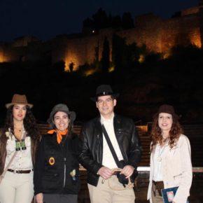 Ciudadanos se viste de arqueólogos en Carnaval para reivindicar su apuesta por el patrimonio de Málaga