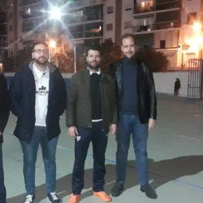 Cs visita al Atlético Rosaleda y al CD Fútbol Romeral, que reclaman ayuda municipal