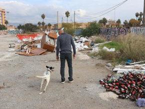 Exigimos un plan para acabar con las escombreras ilegales, especialmente en el distrito de Churriana