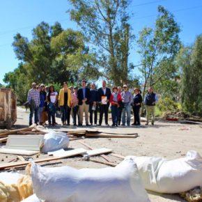 Ciudadanos exige al equipo de gobierno que erradique un vertedero ilegal en la zona de Jaboneros