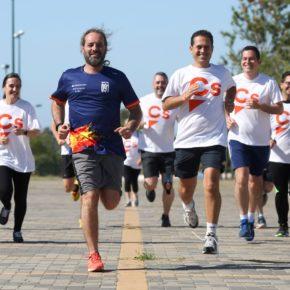 Cs propone circuitos de running, el primero en la zona del Carpena, minipabellones en los distritos  y una red de senderos verdes