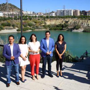 Cs propone mantener el caudal de la Laguna de la Barrera, ampliar la Avenida Jiménez Fraud y soterrar las líneas de alta tensión en Teatinos