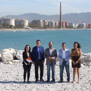 Cs propone acondicionar el espigón de la Térmica a uso público y soluciones a la pérdida de arena en San Andrés,  Sacaba y Guadalmar