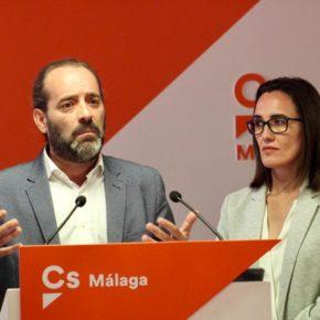 Cs eliminará la plusvalía por herencia en Málaga y se fija el objetivo de rebajar más de 20 puntos la deuda municipal en 4 años