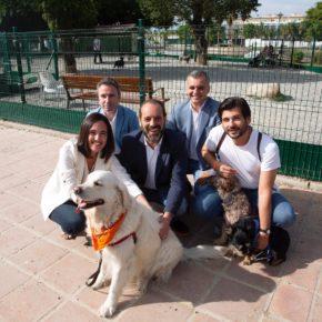 Cs se compromete a luchar por el sacrificio cero animal, a dotar a la ciudad de cuatro nuevos parques caninos y redoblar las multas por excrementos en la vía pública