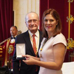 """Noelia Losada: """"Málaga tiene que pensar en grande, es la hora de la política de altura"""""""