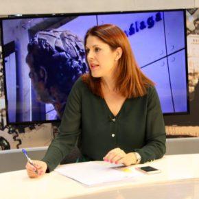 """Noelia Losada: """"El Cerro del Villar va a ser el proyecto de futuro de la Málaga cultural"""""""